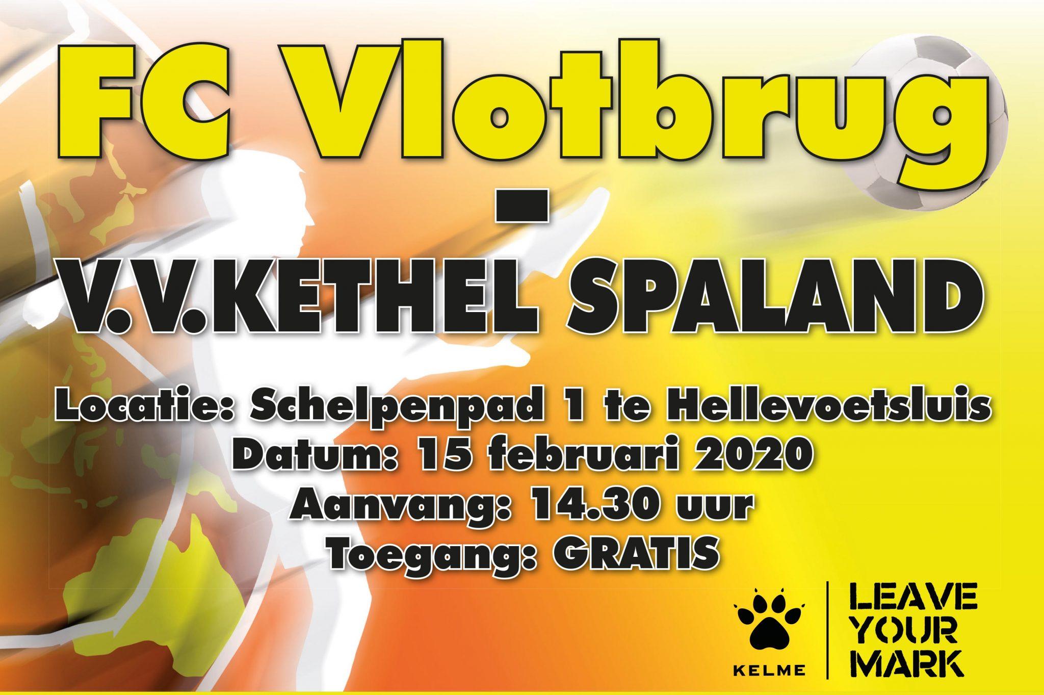 FC Vlotbrug - Kethel Spaland