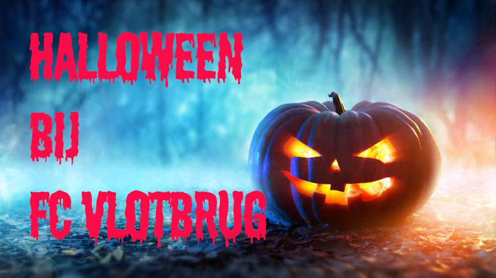 Halloween bij FC Vlotbrug
