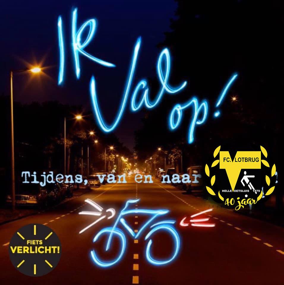 Vroeg donker, zorg dat je fietsverlichting het doet
